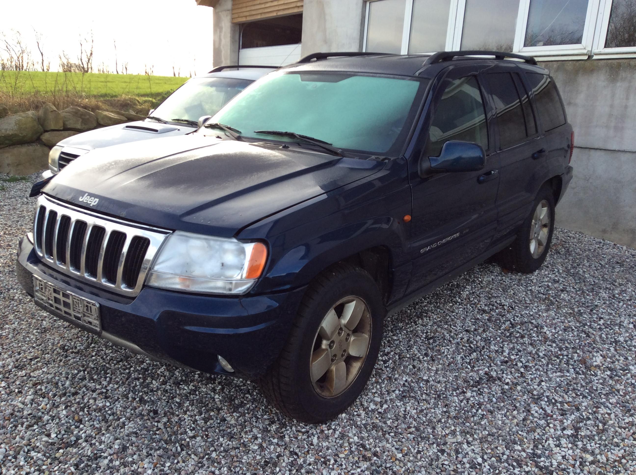 Jeep grand cherokee 4,7v8,år2004,153-1218