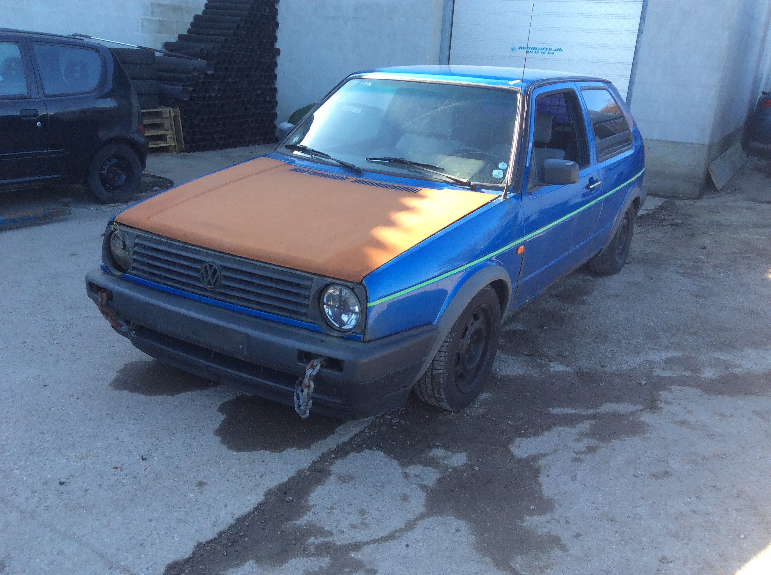 Reservedele,VW GOLF 2 1,6