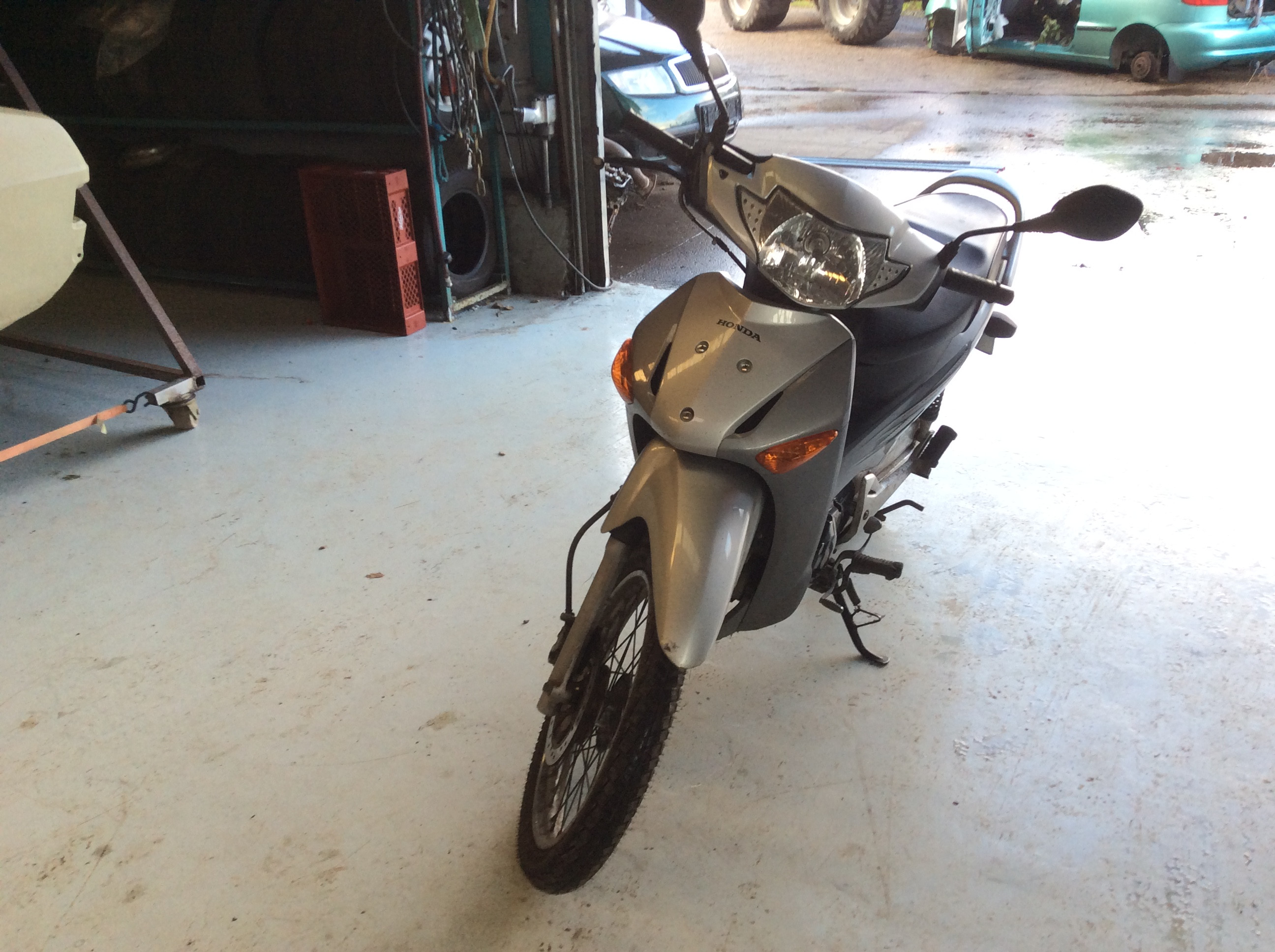 Honda 125 ANF ÅR 2008 128-0917