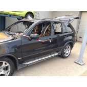 Reservedele,BMW X5 4,4 6spped man år2000 93-0616